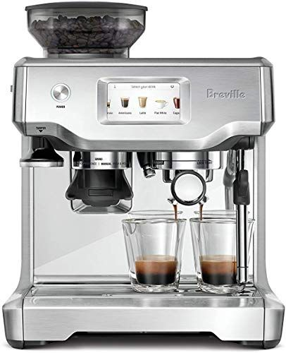 New Breville Barista Touch Semi Automatic Touchscreen Espresso Machine Bundle W Extra Claroswiss Filter Included Bes880 Online Shopping In 2020 With Images Breville Espresso Machine Espresso Machine Automatic Coffee Machine
