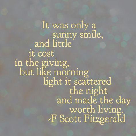 F Scott Fitzgerald ❤