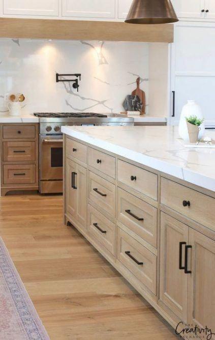 43++ Meuble cuisine blanc et bois ideas