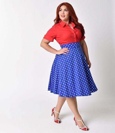 5e6e64503e1 List of Pinterest 1940s fashion plus size polka dots pictures ...