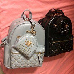 e5a82b4d725 Amazon.com | Cute Small Backpack Mini Purse Casual Daypacks Leather ...