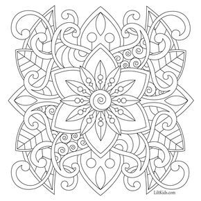 100 Free Adult Coloring Pages With Images Easy Coloring Pages