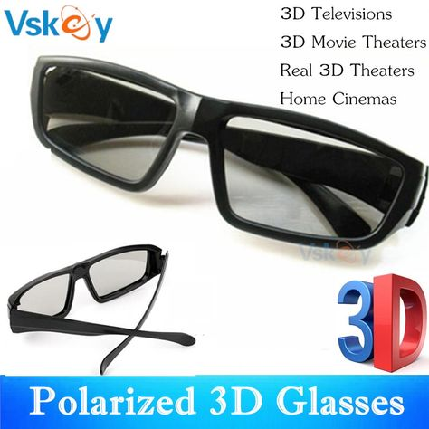 e750d05ade Light Vivid 3D passive Glasses LG realD polarized TV boy Blue Panasonic  Sony
