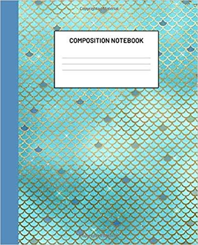 Composition Notebook Mermaid College