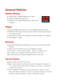 A Letter Total Salon Solutions Staff Meetings This Template Is In - Marketing policy template