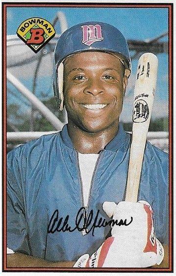 Newman Al Minnesota Twins Bowman 156 Baseball