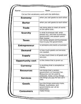 Economics For Kids Economics For Kids Economics Lessons Social Studies Worksheets