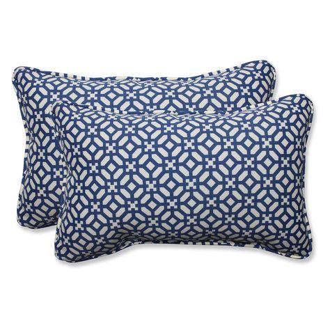 Pillow Perfect In The Frame Rectangular Throw Pillow Set Of 2