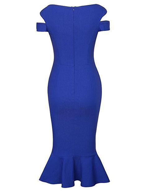 Amazon Com Belle Poque Retro Dress Vintage Floral Cocktail Dress