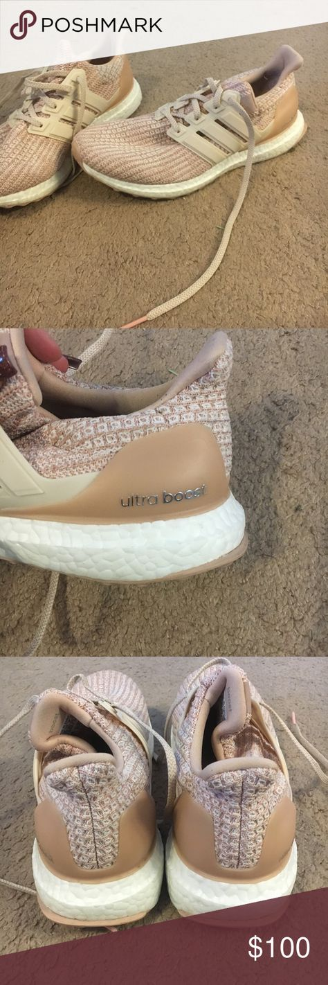 Adidas Ultraboost women size 9 Adidas rose colored ultraboosts great condition. ...#adidas #colored #condition #great #rose #size #ultraboost #ultraboosts #women