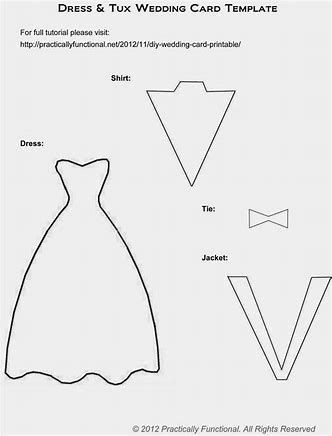 Image Result For Dress Card Template Wedding Dress Template Wedding Cards Dress Templates