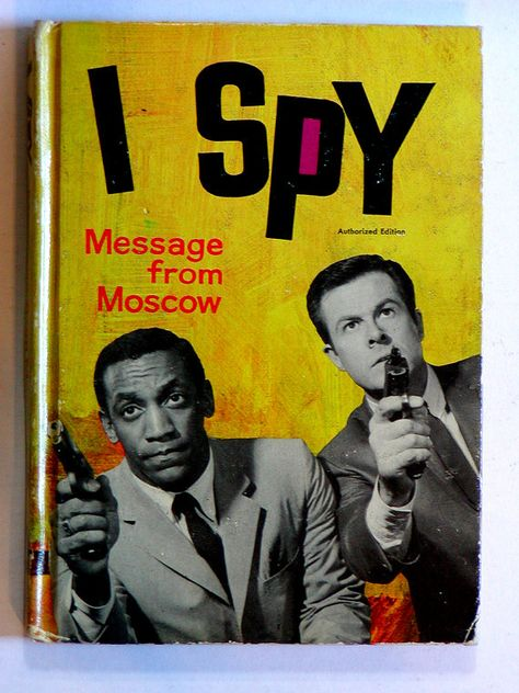 I SPY BOOK // Message From Moscow // TV by graymountainvintage, $7.50