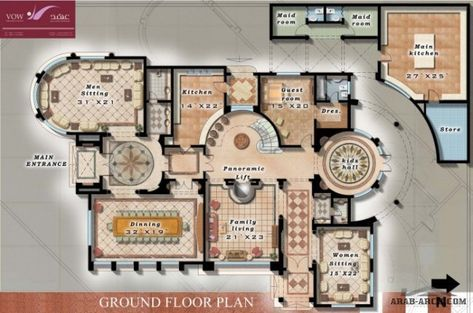 Floor Plans Dubai Private Villa Villa By Shireen Mohamed Floor Plans My House Plans Victorian House Plans