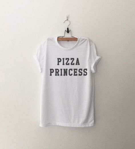 Pizza Shirt drôle T Shirts avec paroles Tumblr Grunge chemises Graphic Tee pour Womens Clothing Fashion Tops T Shirt