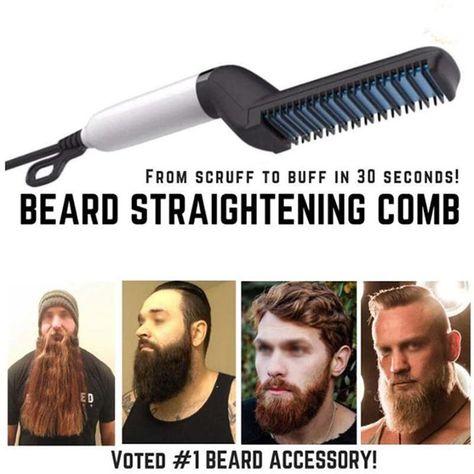 Beard Straightening Comb The Beard Straightening Comb is the
