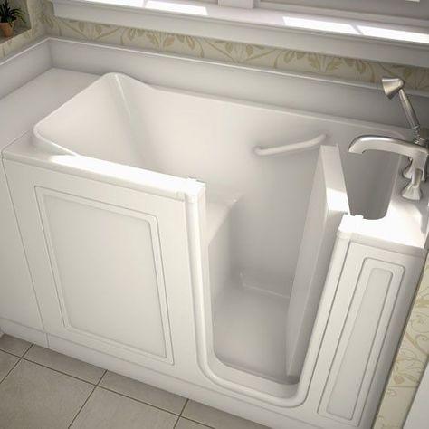 48 X 50 Walk In Right Hand Whirpool Grab Bars In Bathroom