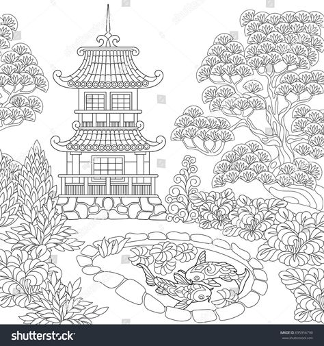 78 Coloring Book In Japanese Best HD