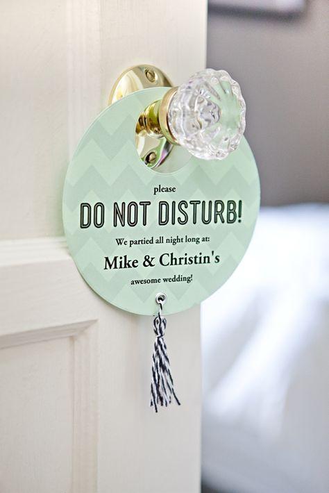 Do Not Disturb Door Hanger Door Hanger New Weds A200 Instant Download Sign Wedding Door Sign Printable Template