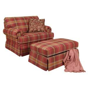 Attrayant Image Result For Plaid Chairs And Ottomans