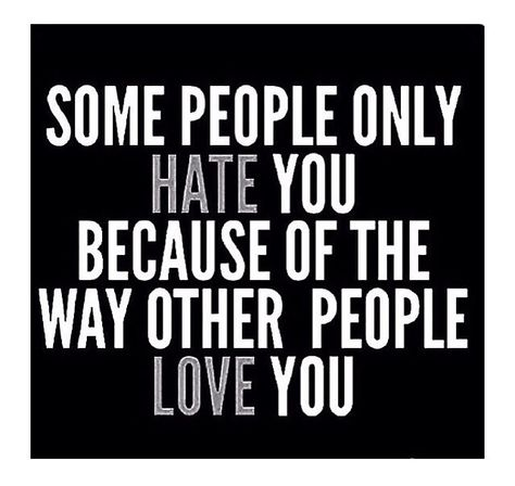 Soooooo so true!!!! It's jealousy.... I've known that since the beginning. Bitches end shit then hate when the man has moved on.