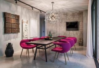 Color Of The Month Dining Room Design Elegant Dining Room Interior Architecture
