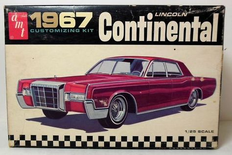 Amt Lincoln Continental Model Cars Pinterest