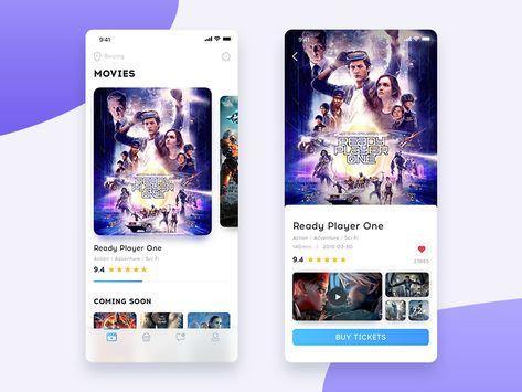 Cinema APP UI/UX - 01