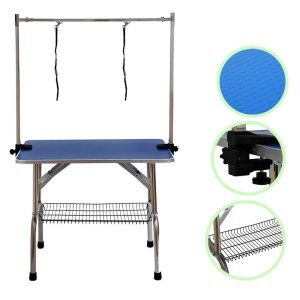 Best Portable Dog Grooming Table By Btm Simple Storage Dog