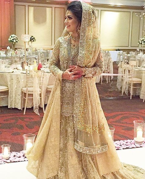 """1,433 Likes, 21 Comments - SUFFUSE (@suffusebysanayasir) on Instagram: """"Our bride Maryam is perfection in this customised #suffuse bridal ✨✨ we wish her all the best…"""""""