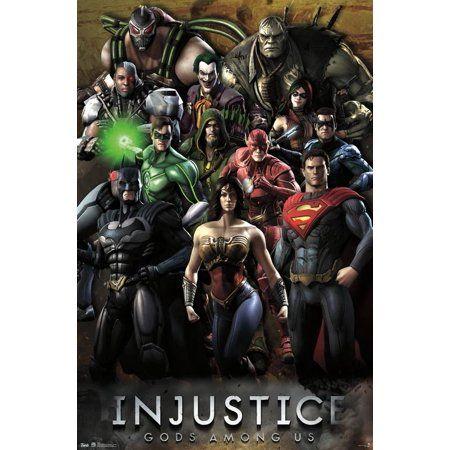 24x36 Injustice Grid Walmart Com In 2021 Grid Poster Injustice Dc Comics