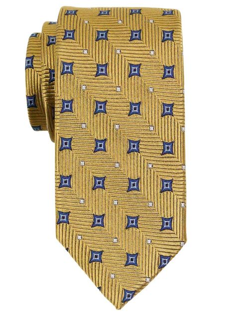 Hart Schaffner Marx Single Paisley Traditional Silk Tie
