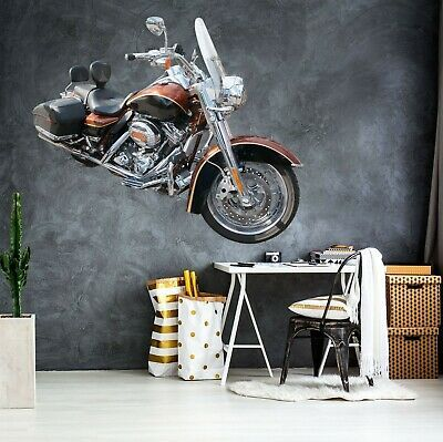 3d Halle Motorcycle P41 Car Wallpaper Mural Poster Transport Wall