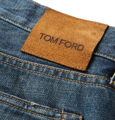 Tom Ford New Kaihara Slim-Fit Denim Jeans
