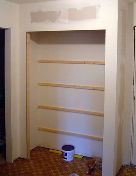 Diy Built In Closet Cupboard Build A Closet Kitchen Design Countertops Diy Closet