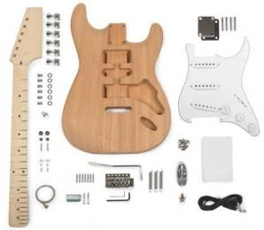 The Best Diy Guitar Kits Electric All Under 250 2020 Gearank In 2020 Guitar Kits Electric Guitar Kits Basic Guitar Lessons