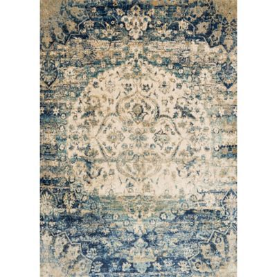 Loloi Rugs Anastasia Medallion 7 10 X 10 10 Area Rug In Blue