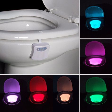Motion Activated Smart Led Toilet Night Light J G Accessories