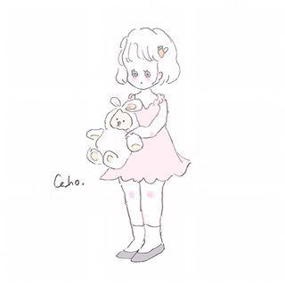 Cahoさん Caho0811 Instagram写真と動画 かわいいスケッチ かわいいイラスト Caho イラスト