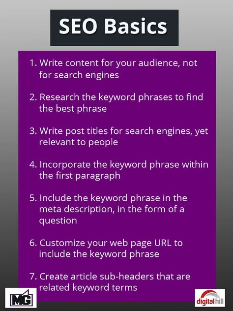 SEO 101 for your Web Page