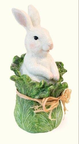 New Primitive Vintage Style Baby Chick Pulling Cart Easter Figurine Shelf Sitter
