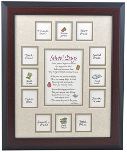 All Things For Mom School Picture Frame 11x14 Cherry Fr Https Www Amazon Com Dp B000mk27sq Ref School Photo Frames School Picture Frames Picture Frames