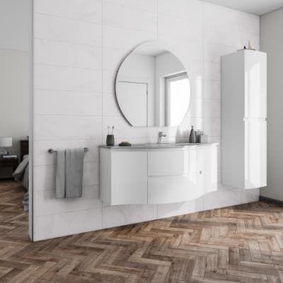 Mobile Bagno Vague Bianco L 138 Cm Casa Nostra In 2019