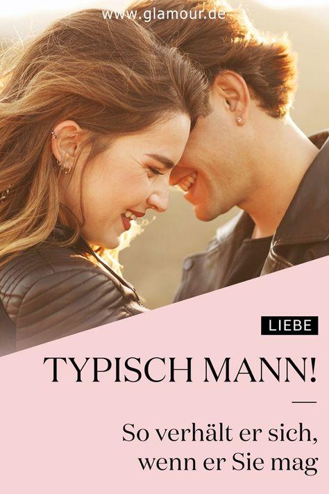 Typisch Mann: So verhält er sich, wenn er Sie mag #liebe #beziehung #mögen #männer #verstehen #tipps #tricks #couple #flirten #glamour #glamourgermany