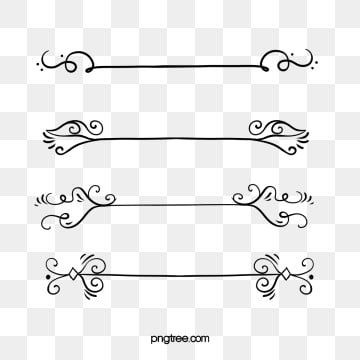 12 A Black Line Png Straight Line Tattoo Free Image Editing Floral Wreaths Illustration