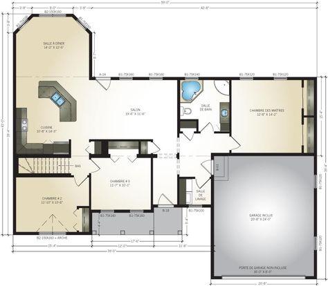 Pro-Fab Constructeur de maisons modulaires, usinées, préfabriquées - faire plan de maison gratuit