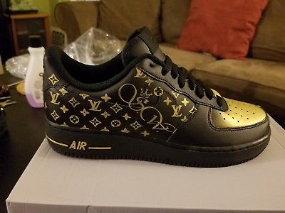 air force 1 nere pelle