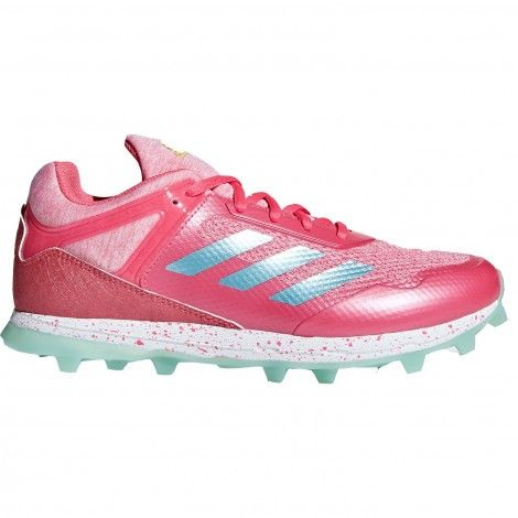 adidas Fabela Zone hockeyschoenen dames real pink light aqua ...