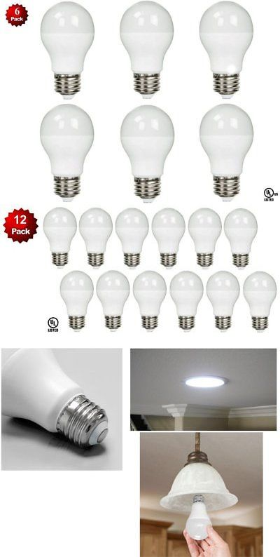 Light Bulbs 20706 6 Pack Led 100 Watt Equivalent 5000k 100w A19 Daylight White Light Bulb 11w Ul Buy It Now Only 19 95 O Led Bulb Bulb White Light Bulbs