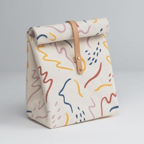 Tess Rubinstein reusable lunchbag
