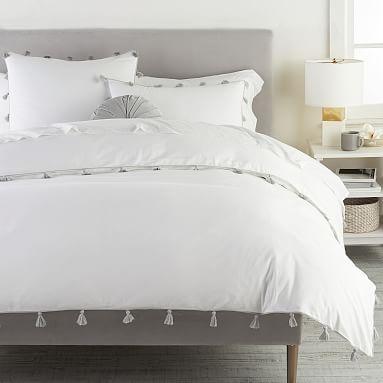 Tassel Duvet Cover Sham In 2020 Duvet Covers Dorm Room